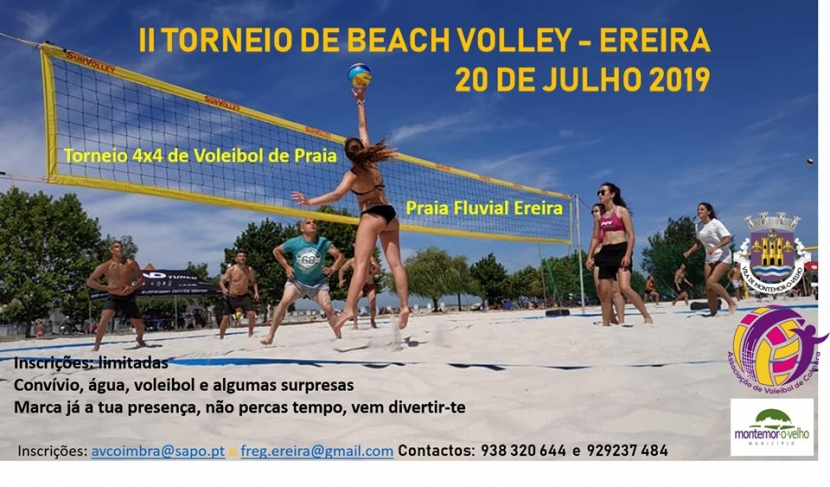 II Torneio de Beach Volley – Ereira