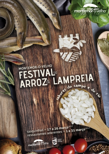 Festival do Arroz e da Lampreia | sabores do campo e do rio | 2017