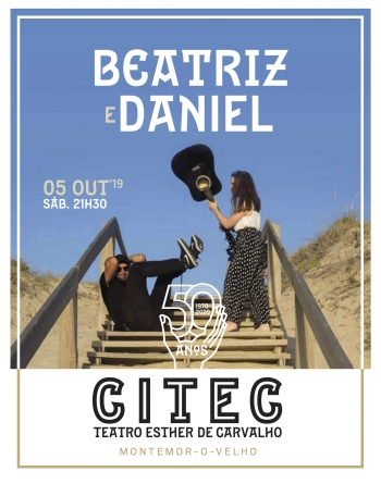 Espectáculo musical com o duo Beatriz e Daniel | Teatro Esther de Carvalho (TEC)